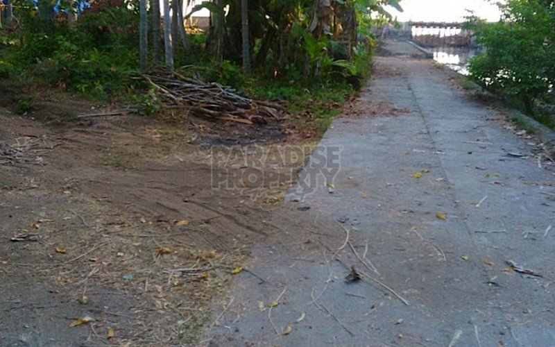 Water Front / Freehold Land (3900 sqm) in Candidasa