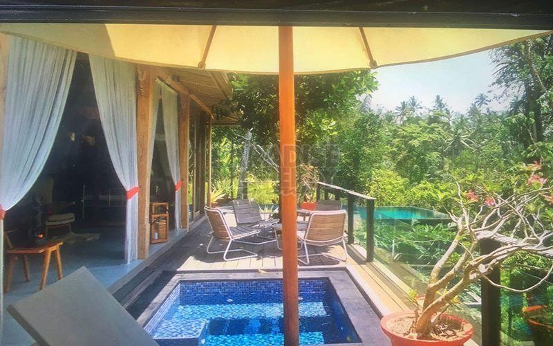 2 Luxury Joglo Style Villas with Spectacular Jungle and River Views – Sold separately or together