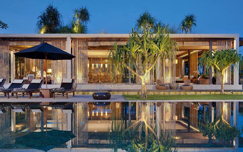 Amazing Contemporary Beachfront Property
