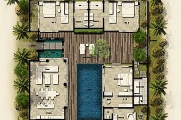 Elegantly Designed 3BR Resort Villa in Seminyak