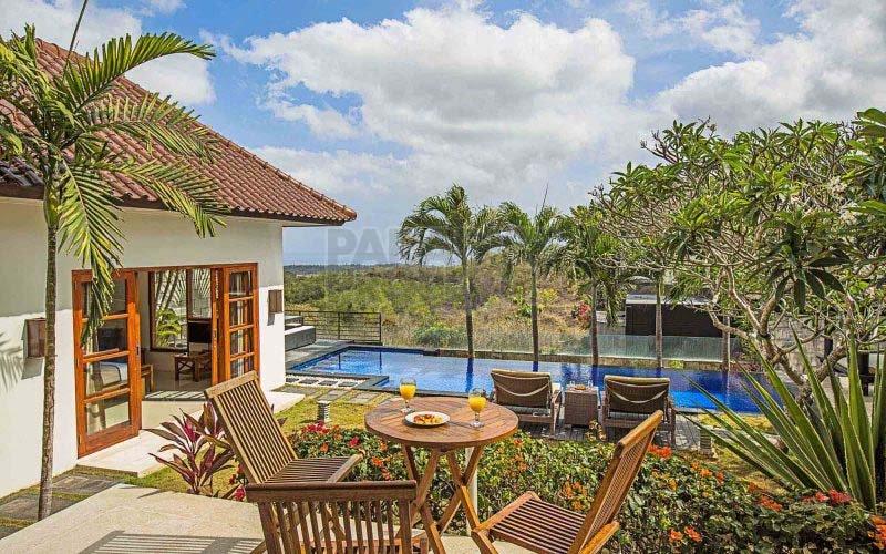 Freehold Stylish 3 Bedroom Villa with Jimbaran Bay Views