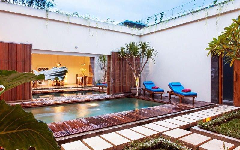 Modern 2 Villa Complex in Kuta