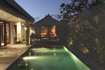 Luxury Villa with Rice Terrace View in Sanur