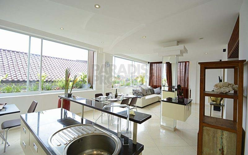 Apartment 2 Bedrooms in the Heart of Seminyak, Leasehold 46 years