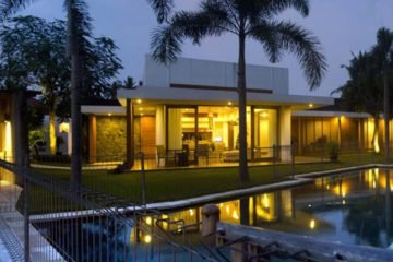Modern Comfortable 8 Bedroom Family Villa on 19 Are Freehold Land at Babakan Canggu