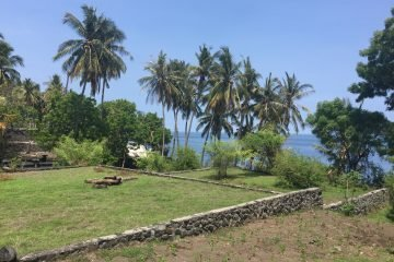 Beachfront land in Tulamben, Kubu area