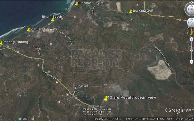 1000 sqm Unblockable Ocean View Land