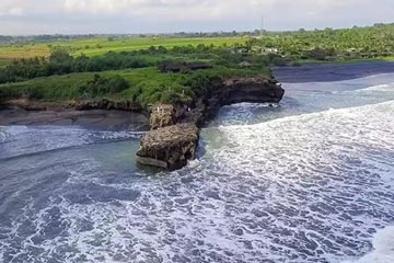 Freehold Cliff Front Land with Private Beach in Tabanan