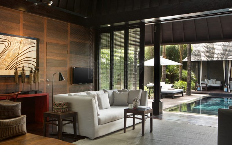 Super Luxury 2 Villas with 5 Bedrooms in Luxury Estate at Prime Location in Seminyak