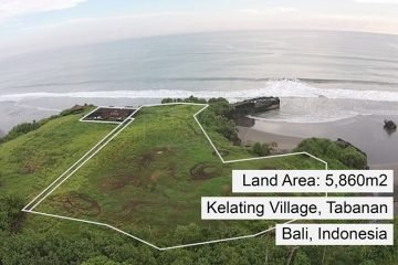 Freehold Cliff Front Land with Private Beach