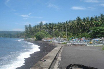 Beach Front Land for Development in Jasri / East Coast Bali.