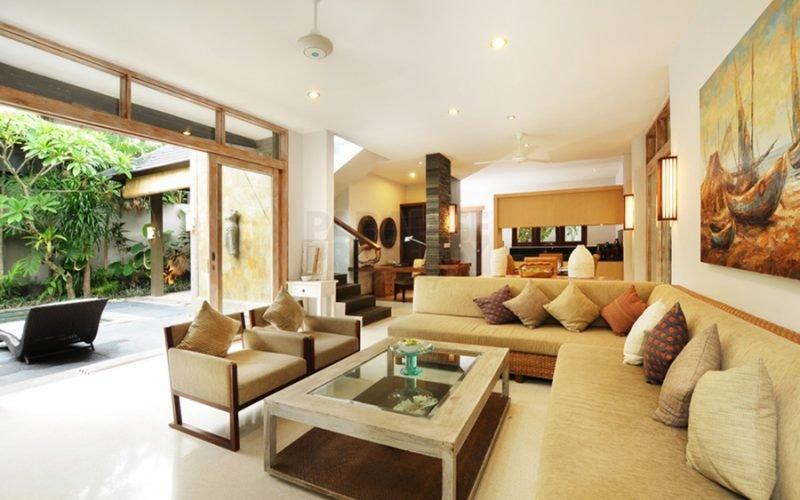 Villa 2 Kamar Tidur Dekat dengan Pantai di Canggu
