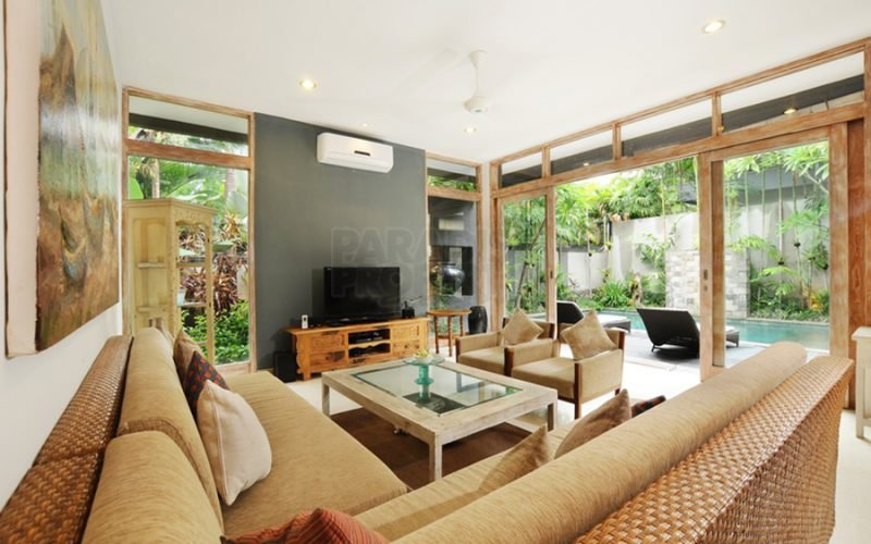 2 Bedroom Luxury Villa in complex available for yearly rent in Canggu