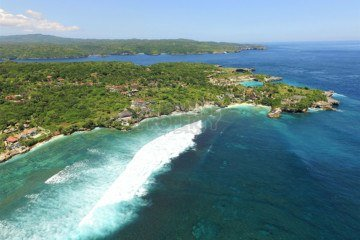 Premium Waterfront Vacant Land On Nusa Ceningan – Number 1 Location On the Island