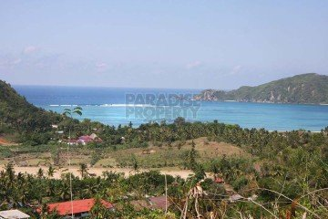 Beautiful 228 Are Hilltop Land with Majestic Views in Kuta – Lombok
