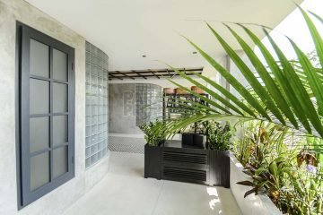 Spacious 2 Bedroom Designer Eco-apartment in Central Seminyak