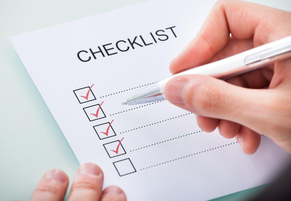 Pre-Due Diligence Checklist