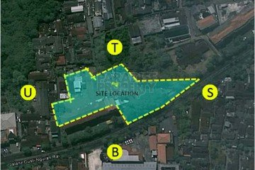 Prime Land Opportunity 5200m2 on Jl. Bypass Ngurah Rai