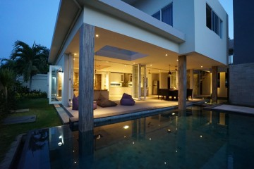 Beautiful New 4 Bedroom Modern  Villa For Rent In Sanur