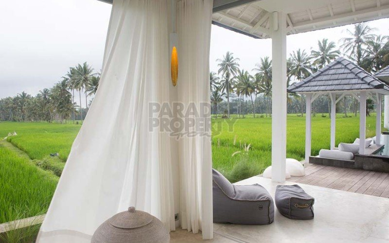 Stylish Tropical Villa with Stunning Rice Field Views – 10 Minutes North of Ubud