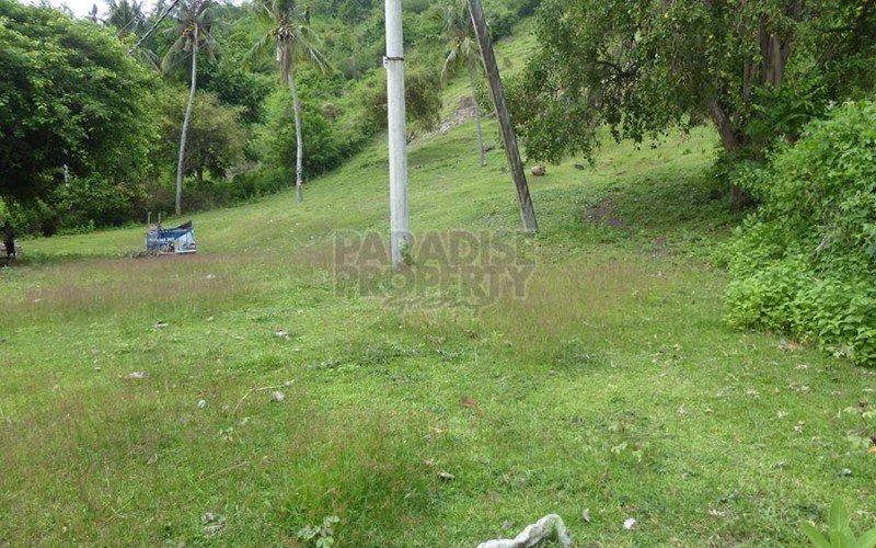 Dijual Tanah di Lombok. 100m dari Pantai – Panorama Pemandangan Laut!