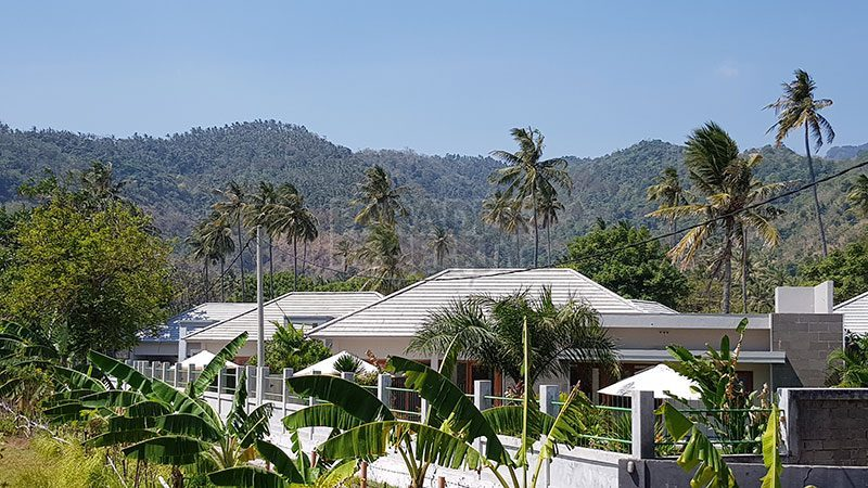 Newly built Beachside Villa SHM in Sengigi, 50 Meter from the Beach!