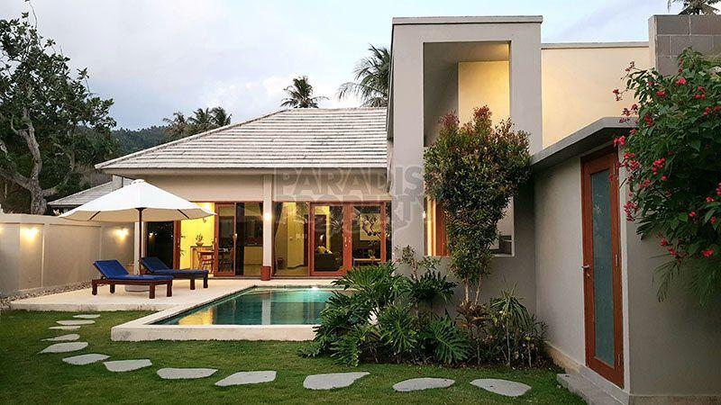 Newly built Beachside Villa SHM in Sengigi, 75 Meter from the Beach!