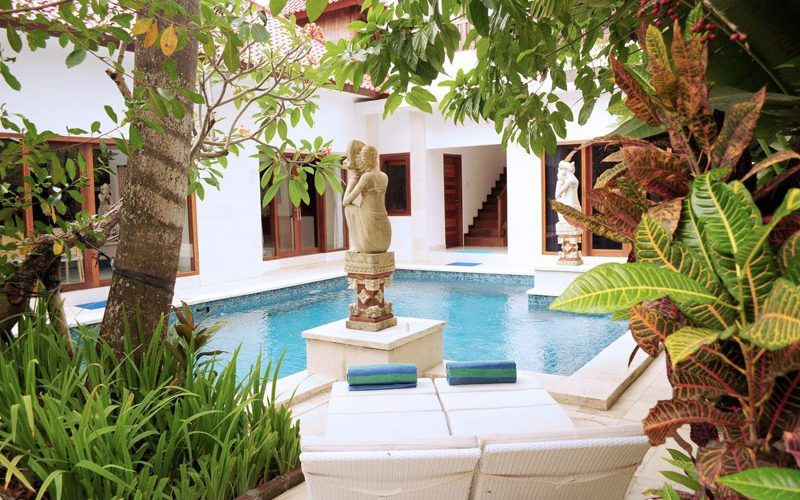 FIRE SALE! Connected 2 + 3 Bedroom Villa's for Sale at walking distance to Seminyak Beach
