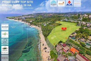 Peluang Investasi Depan Tebing seluas 1.58 Hektar di Bukit, Bali