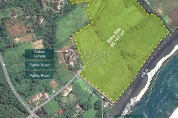Stunning 6 Hectare Absolute Beach Front Investment Opportunity