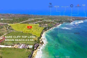 Dijual Tanah Depan Tebing di Bukit, Bali. Untuk Hotel danDijual Tanah Depan Tebing di Bukit,  Villa