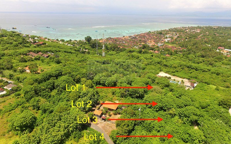 5 x Vacant Lot Sub-Division In A Lovely Location On The Very Popular Island Of Nusa Lembongan
