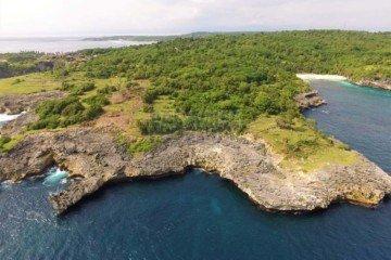 Lokasi Luar Biasa. Dijual Tanah Tepi Tebing Di Nusa Ceningan