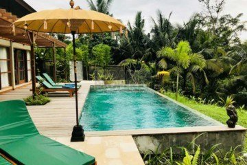 3 Stylish, 3 Bedroom Villas in a small Villa Complex – 10 Minutes East of Ubud – Leasehold