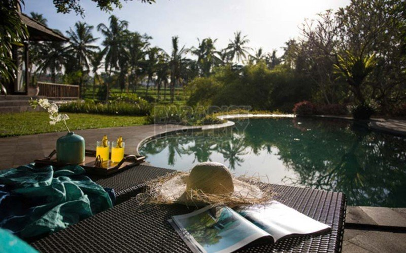 Stunning 4 Bedroom Villa – 1500 sqm Freehold Land near Ubud Center – Amazing Rice Terrace Views