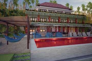 Freehold Condotel Located in Scenic Tourism Area of Karangasem Pre-Completion sale
