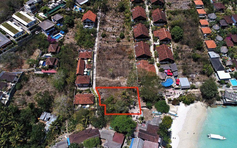 Premium 630m2 Vacant Land Commercial/Accommodation Development Site Just 20 Metres from the Jungut Batu Beach on Nusa Lembongan