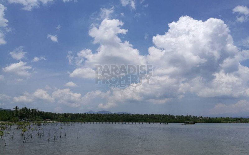 Exceptional Plot of  Beachfront Land near the National Park on the North Coast of Bali – 2.2 Hectares Freehold