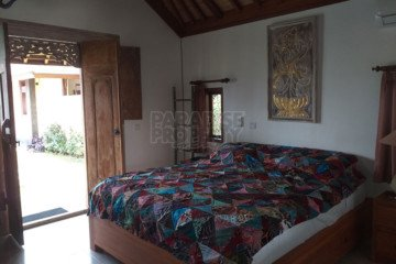 Comfortable 3 Bedroom Family Villa with Rice Field Views – 20 Are Freehold Land North of Ubud