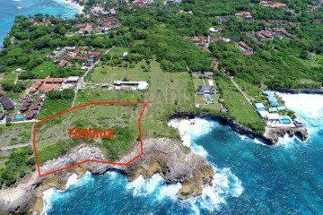7600m2 Cliff Front Vacant Land Development Site West Facing On The Tourist Hotspot Island Of Nusa Lembongan