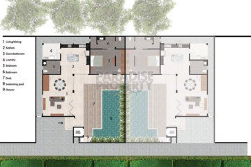 Brand New Modern 3 Bedroom Villa in Berawa