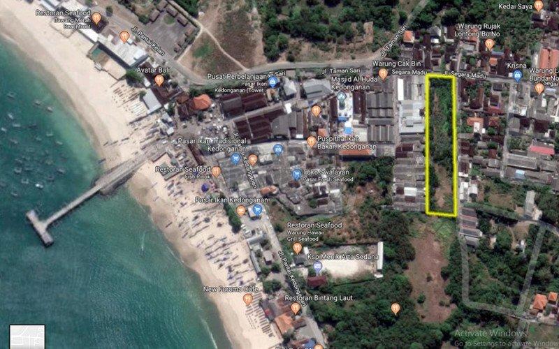 Freehold/Hak Milik Land in Kedonganan, Jimbaran