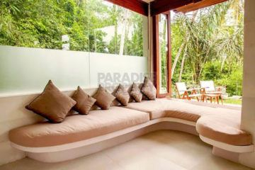 Luxurious 4 Bedroom Villa set amidst a Lush Tropical Jungle – Leasehold – 3 Km North of Ubud Center