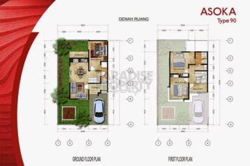 Freehold 3 Bedroom Townhouse in Exclusive Area of Jimbaran