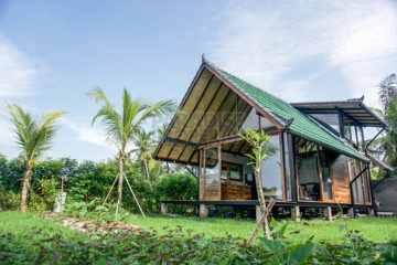 Custom Designed Sustainable Home for Sale Set Amidst Green Tropical Environment of Ubud