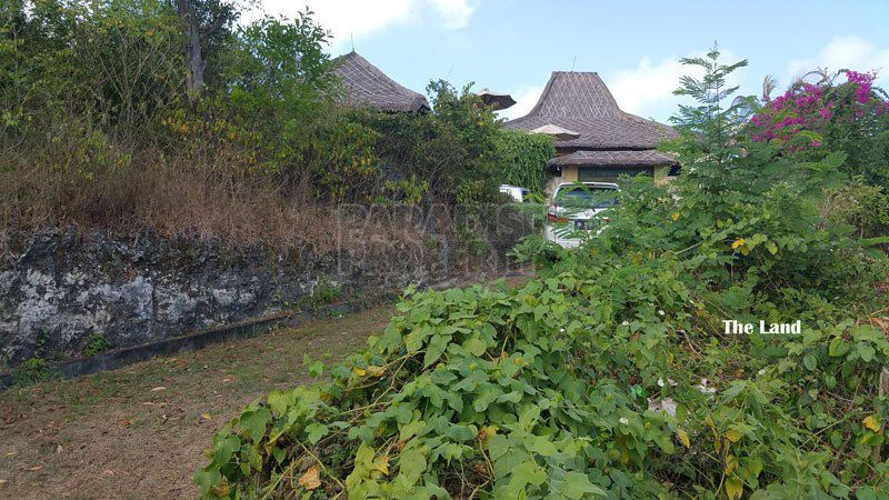 Unblockable View Land Within Walking Distance To Suluban Beach