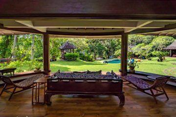 5 Bedroom Riverside Villa in 70 are in Tabanan, Kaba Kaba