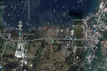 2616m2 Absolute Beachfront Land for Sale Freehold in Lombok