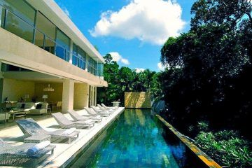 Chic and Luxurious Contemporary 4 Bedroom Villa at Banjar Semer close to Seminyak – Monthly Rental