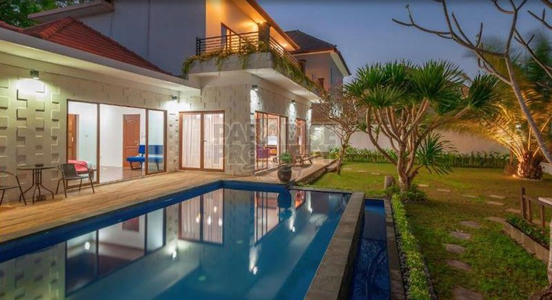 A Modern Minimalist Villa For Sale In Nusa Dua